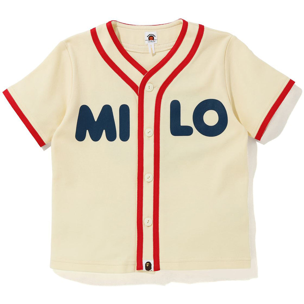 BABY MILO BASEBALL SHIRT KIDS
