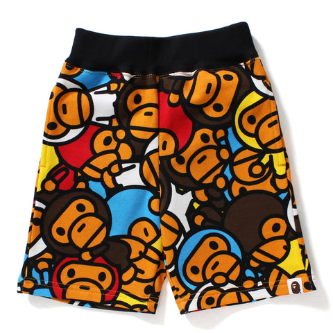 ALL BABY MILO MUL SWEAT SHORTS KIDS