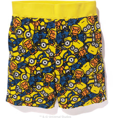 ALL MINIONS SWEAT SHORTS MENS