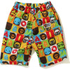 MILO FRIENDS BLOCK BEACH SHORTS KIDS