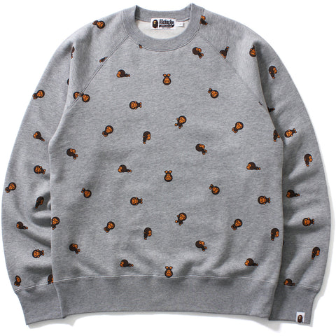 MILO MONOGRAM CREWNECK MENS