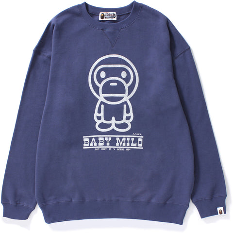 BABY MILO OVERSIZED CREWNECK LADIES