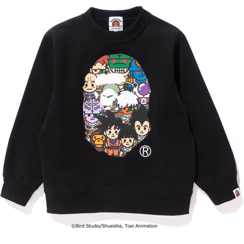 BAPE X DRAGON BALL Z CREWNECK KIDS