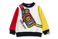BABY MILO FAKE SHOULDER CREWNECK KIDS
