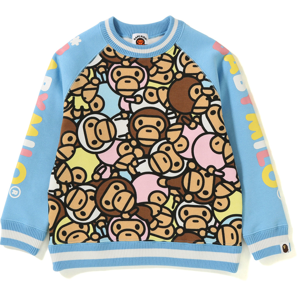 ALL BABY MILO MULTI CREWNECK KIDS