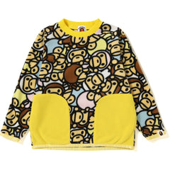 ALL BABY MILO MULTI FLEECE CREWNECK KIDS