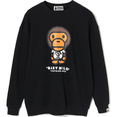 MILO WITH TEE OVERSIZED CREWNECK LADIES