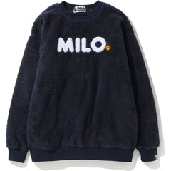 BABY MILO BOA OVERSIZED CREWNECK LADIES