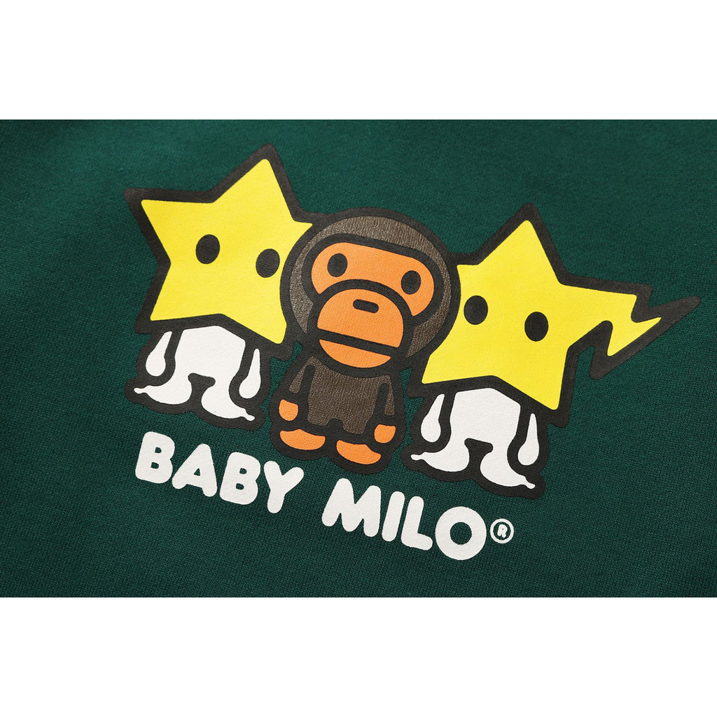 COLOR BLOCK BABY MILO CREWNECK KIDS