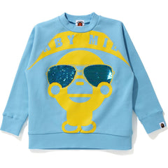 BABY MILO SEQUIN SUNGLASSES CREWNECK KIDS