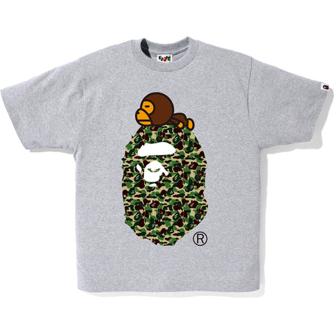 ABC CAMO BIG APE ON MILO TEE