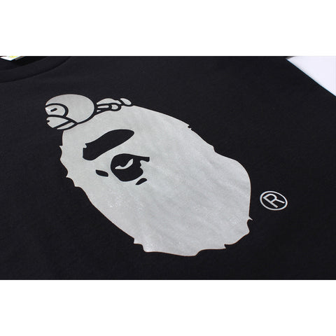 FOIL MILO ON BIG APE TEE