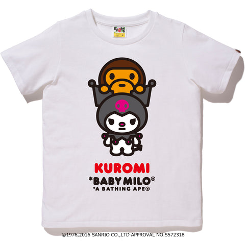 MY MELODY X BABY MILO TEE LADIES