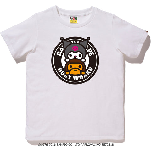 MY MELODY BWS TEE LADIES