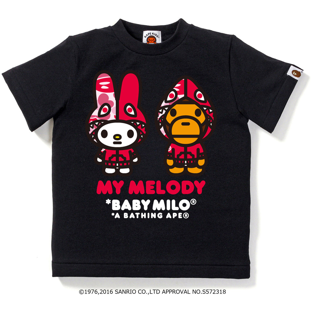 MY MELODY SHARK TEE KIDS