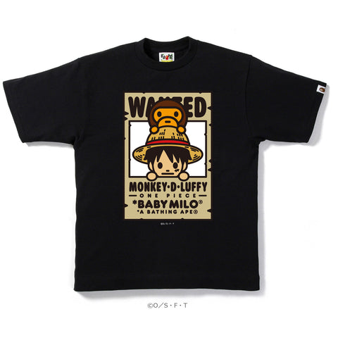 LUFFY X MILO BOUNTIES TEE MENS
