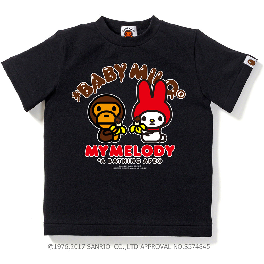 MY MELODY X MILO CHOCOLATE TEE KIDS