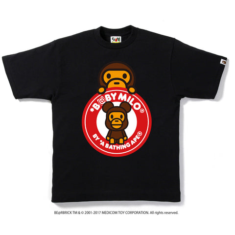 BE@RBRICK MILO BUSY WORKS TEE M