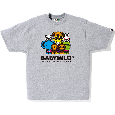 MILO AND FRIENDS TEE MENS