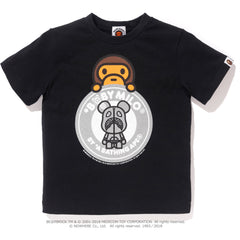 BABY MILO BE@RBRICK BUSY WORKS TEE K (MEDICOM) KIDS