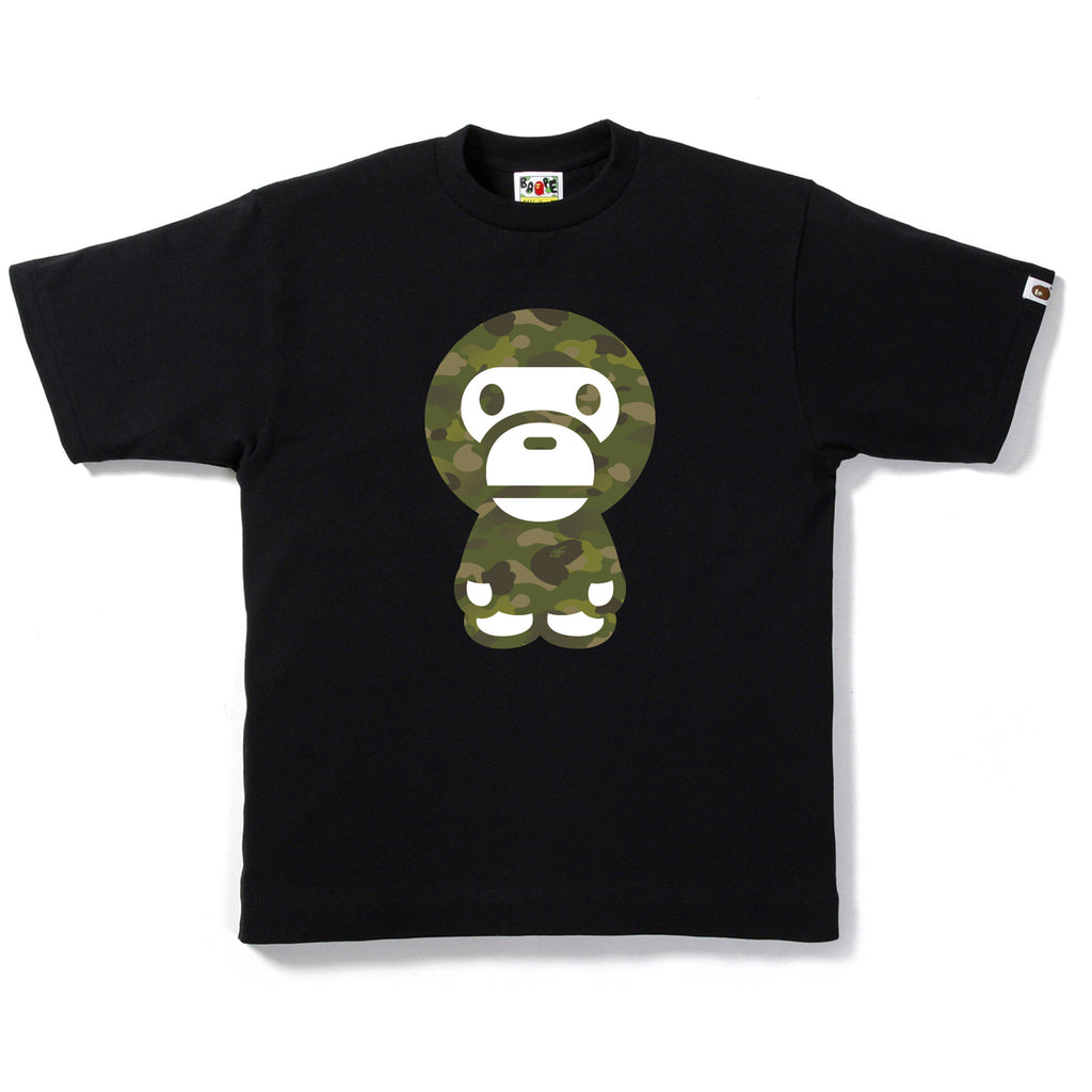 GRADATION CAMO BIG BABY MILO TEE MENS