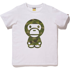 GRADATION CAMO BIG BABY MILO TEE LADIES