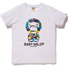 MULTI CAMO BABY MILO TEE LADIES