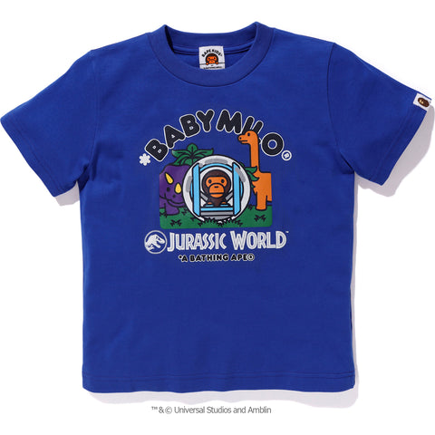 BAPE JURASSIC WORLD MILO TEE #2 KIDS