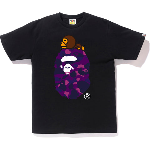COLOR CAMO MILO ON BIG APE TEE MENS