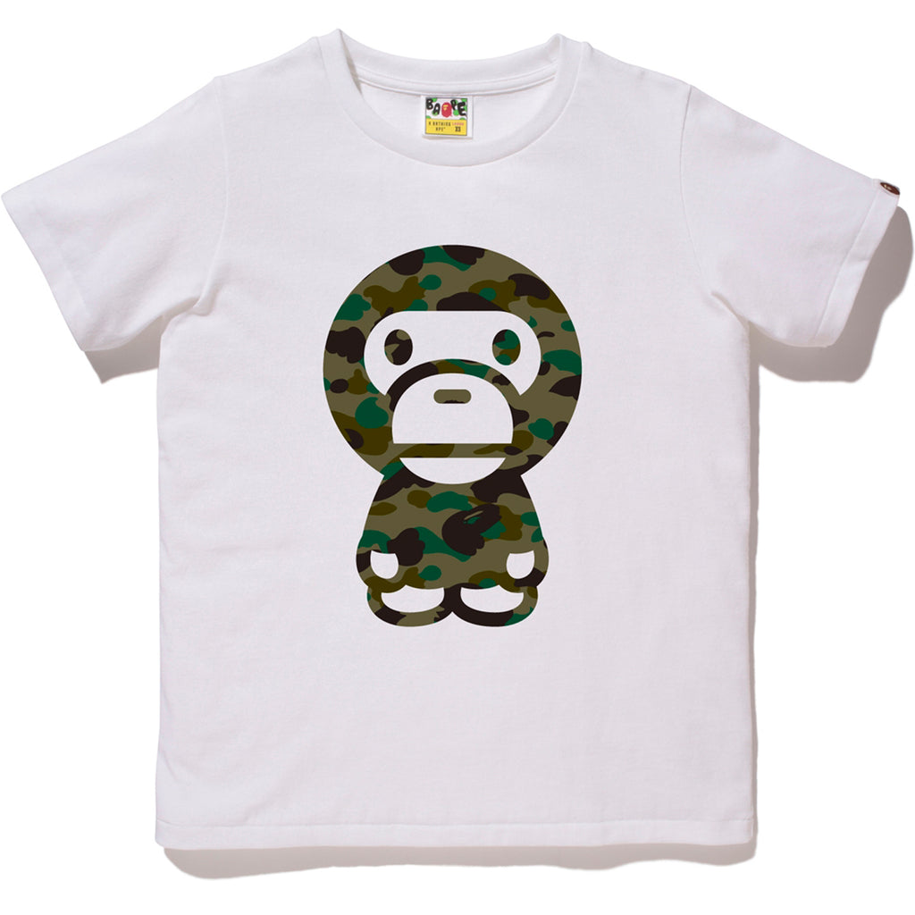 1ST CAMO BIG BABY MILO TEE LADIES