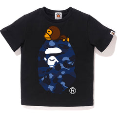 COLOR CAMO MILO ON BIG APE TEE KIDS