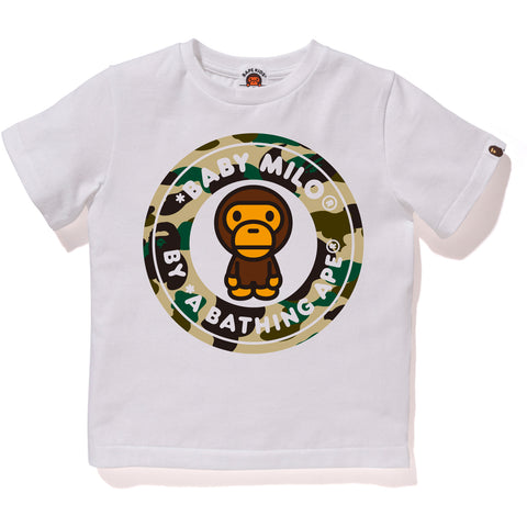1ST CAMO MILO BUSY WORKS TEE KIDS