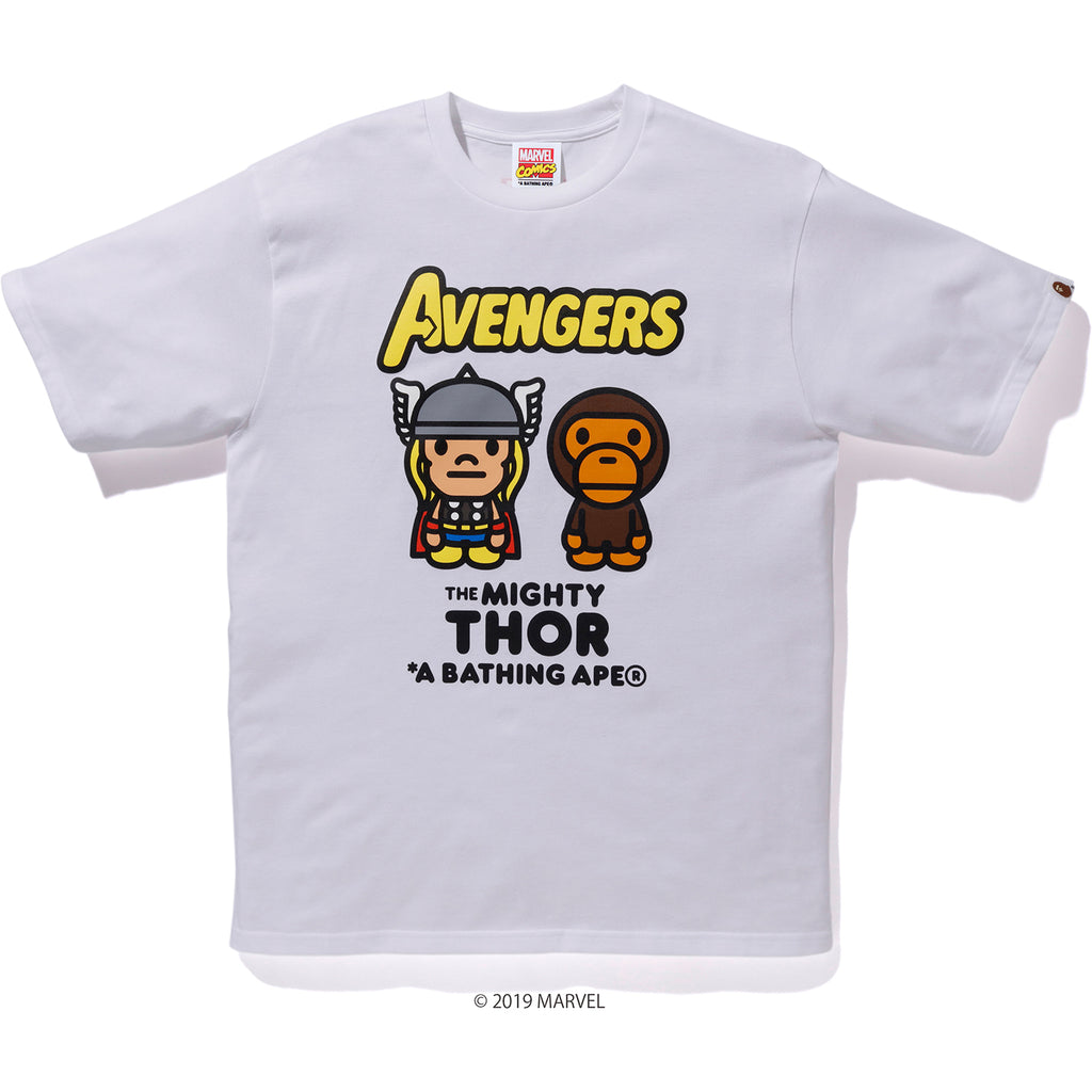 BAPE MARVEL MILO MIGHTY THOR TEE MENS