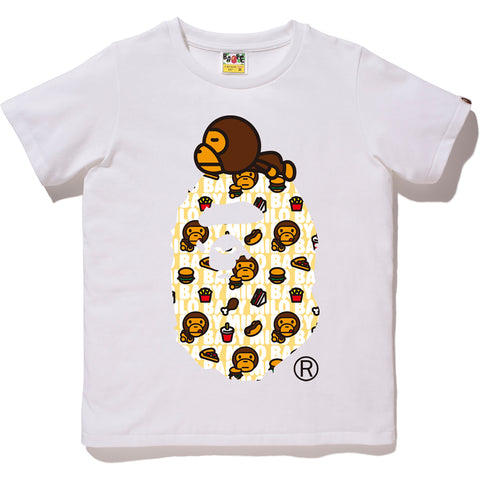 MILO JUNK FOOD MILO ON BIG APE TEE LADIES