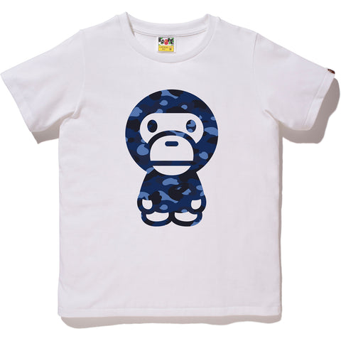 COLOR CAMO BIG BABY MILO TEE LADIES