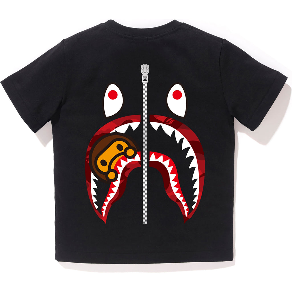 COLOR CAMO WGM MILO SHARK TEE KIDS