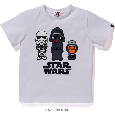 SW X BAPE FIRST ORDER TEE KIDS