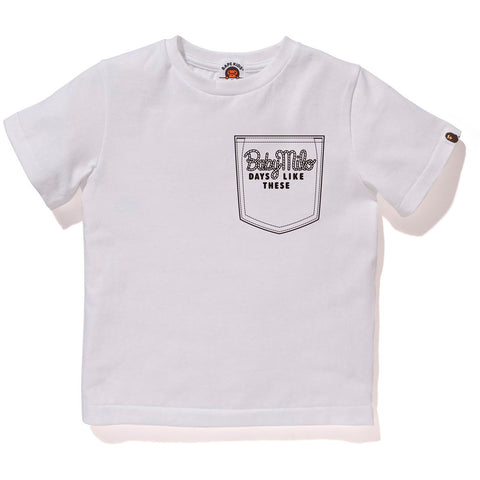 MILO CHAMPION POCKET PRINT TEE KIDS