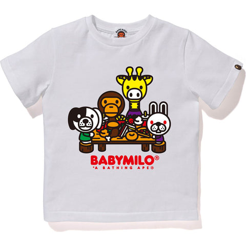 MILO & FRIENDS PICNIC TEE KIDS