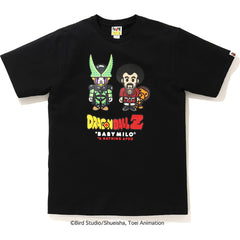 BAPE X DRAGON BALL Z BABY MILO MR. SATAN & CELL TEE MENS