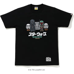 SW X BAPE BABY MILO CARBONITE TEE MENS