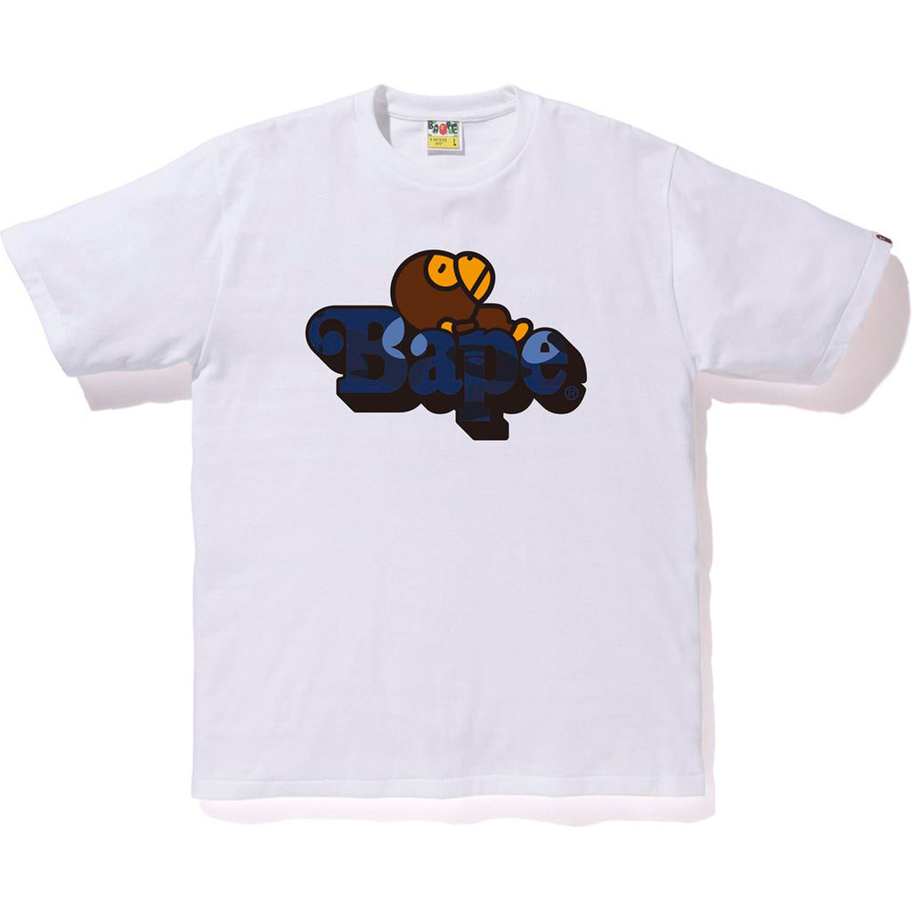 COLOR CAMO MILO ON BAPE TEE MENS