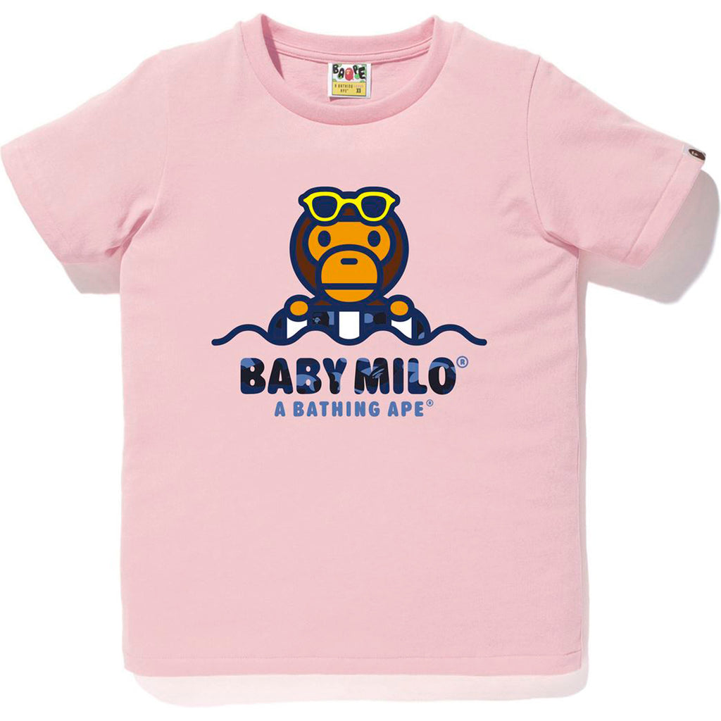 COLOR CAMO MILO FLOAT SUMMER TEE LADIES