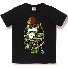 ABC CAMO MILO ON BIG APE TEE LADIES