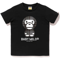 BAPE CHECK BABY MILO TEE LADIES