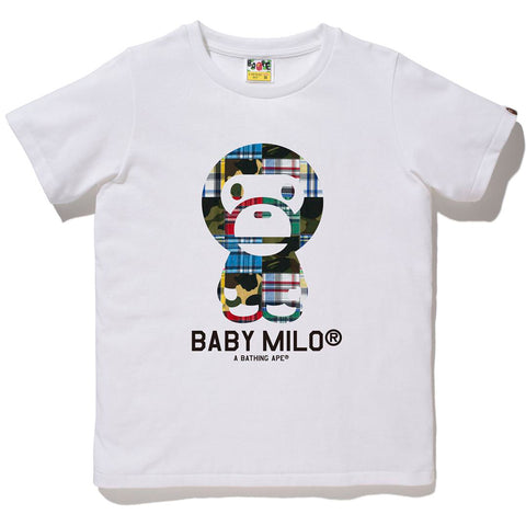 PATCHWORK BABY MILO TEE LADIES
