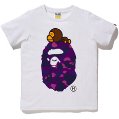 COLOR CAMO MILO ON BIG APE TEE LADIES