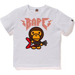 BABY MILO ROCK GUITAR TEE KIDS