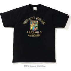 BAPE X SESAME MADISON TEE MENS