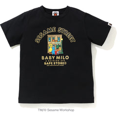 BAPE X SESAME MADISON TEE KIDS